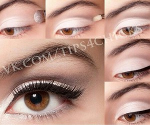 eye, how to, and eyeliner image