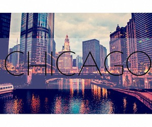 chicago, travel, and wanderlust image