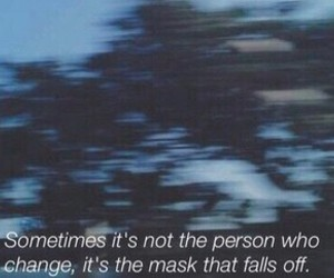 change, deep, and mask image