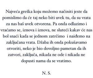 ljubav, zivot, and n.s. image