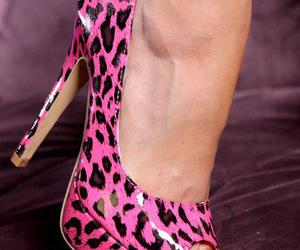 awesome, high heels, and yellow nails image