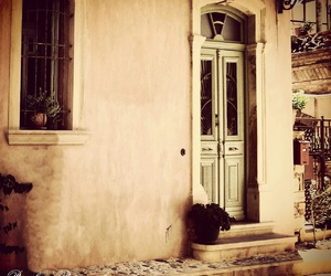 chios, door, and Greece image