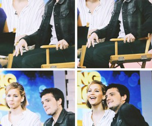 celebrity, couple, and hunger games image