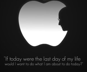 apple, rip, and Steve Jobs image