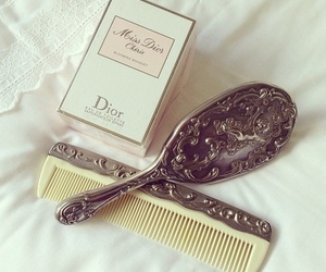 dior, brush, and vintage image