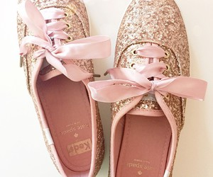 shoes, girly, and glitter image
