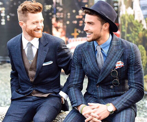 guys, handsome, and mariano di vaio image