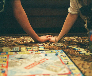 game, couple, and monopoly image