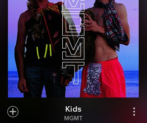kids, MGMT, and music image