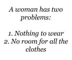 clothes, problem, and woman image
