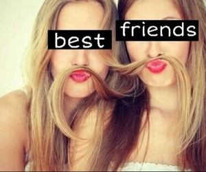 best friends, girls, and friendship image