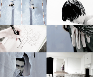 blue, teen wolf, and xx image