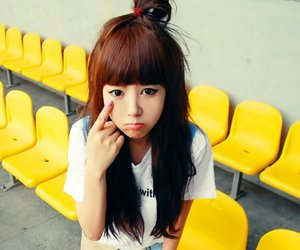 kawaii, ulzzang girl, and korean girl image