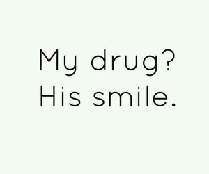 drug, him, and smile image