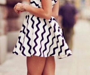 dress, girl, and style image