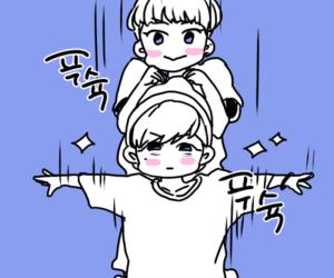 fanart, jinhwan, and donghyunk image