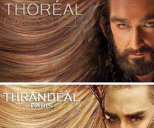the hobbit, thranduil, and funny image