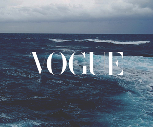 vogue, sea, and ocean image