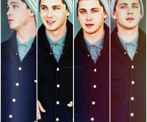 actor, percy jackson, and blue eyes image