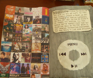 wreck this journal, ed sheeran, and one direction image