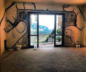 art, photo, and window image