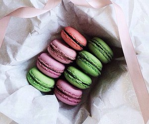macaroons, dessert, and food image