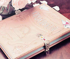 cinderella, book, and diary image