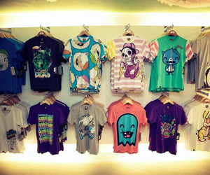 drop dead, style, and t-shirts image