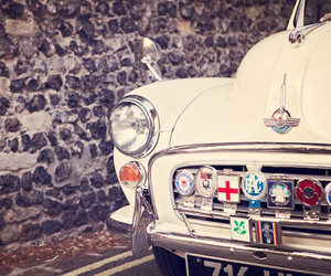 car, vintage, and london image
