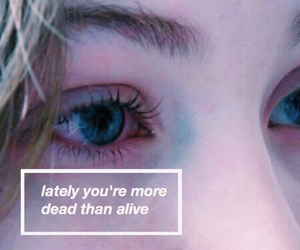 quotes, grunge, and eyes image