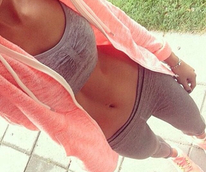 fitness, sporty, and grey image