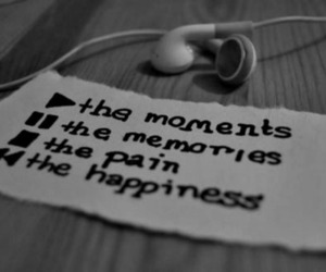 music, memories, and happiness image