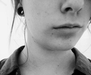 black, freckle, and pc image