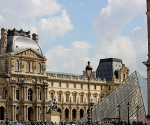 french, louvre, and paris image