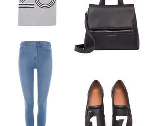 black, outfit, and look image
