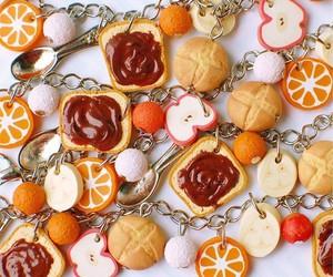 apple, bracelet, and orange image