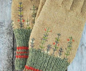 antique, knitted, and vintage image