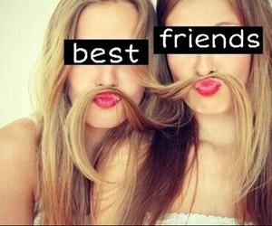 best friends, blondie, and hair image