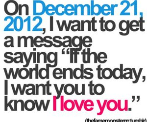 love, 2012, and I Love You image