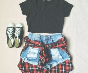casual, converse, and simple image