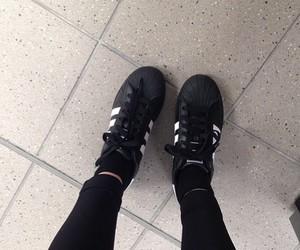 adidas, dark, and ghetto image