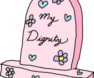 dignity, pink, and flowers image