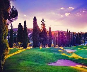 caption, colors, and landscapes image