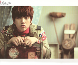 sandeul and b1a4 image