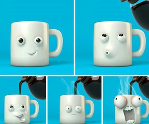 animations, cartoons, and coffe image