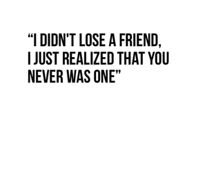 alone, fake, and quote image