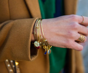 fashion, gold, and glamour image