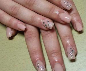 nails, natural, and christal image