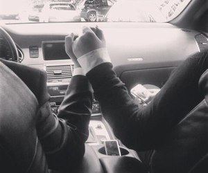 driving, car, and couples image