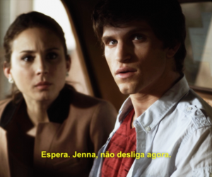alison, toby, and pretty little liars image